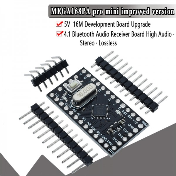Pro Mini 168 ATMEGA168 5V/16MHz For Arduino Compatible With Nano Micro Control Board