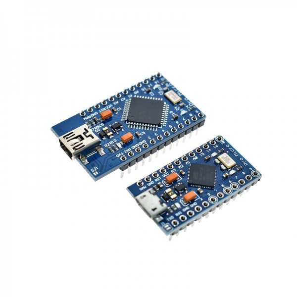 Pro Micro ATmega32U4 5V 16MHz Replace ATmega328 For arduino Pro Mini With 2 Row Pin Header For Leonardo USB Interface