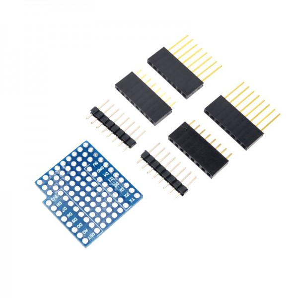 D1 mini double sided perf board ProtoBoard Shield WIFI Internet of Things development board