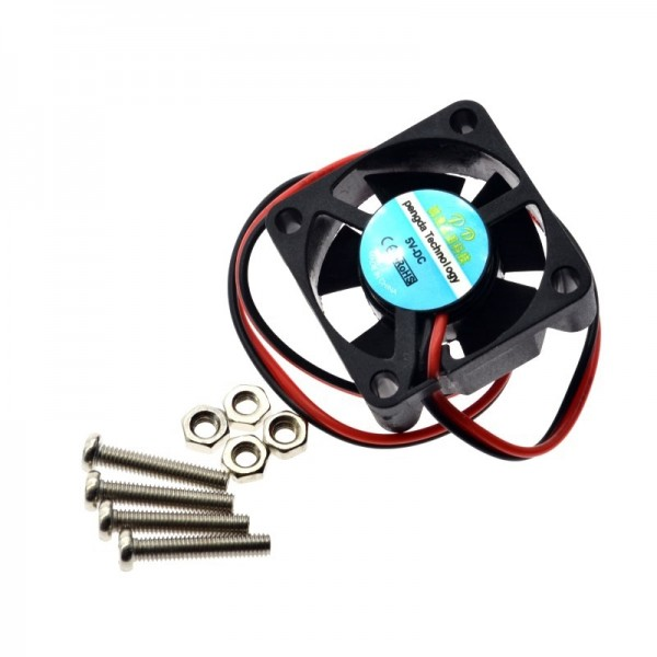 Raspberry PI Fan Active Cooling Fan for Customized Acrylic Case 5V plug-in and play Support raspberry pi model B Plus