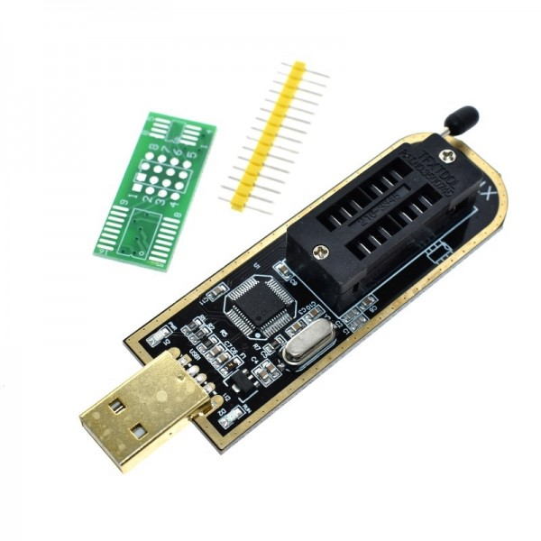 XTW100 USB Programmer with Software Driver 24 25 Series EEPROM Flash BIOS SPI FLASH Motherboard Multifunctional CH341A upgrade