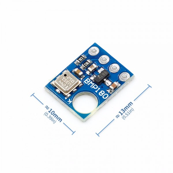 BMP180 Digital Barometric Pressure Sensor Board GY68 Module compatible with BMP085 For Arduino