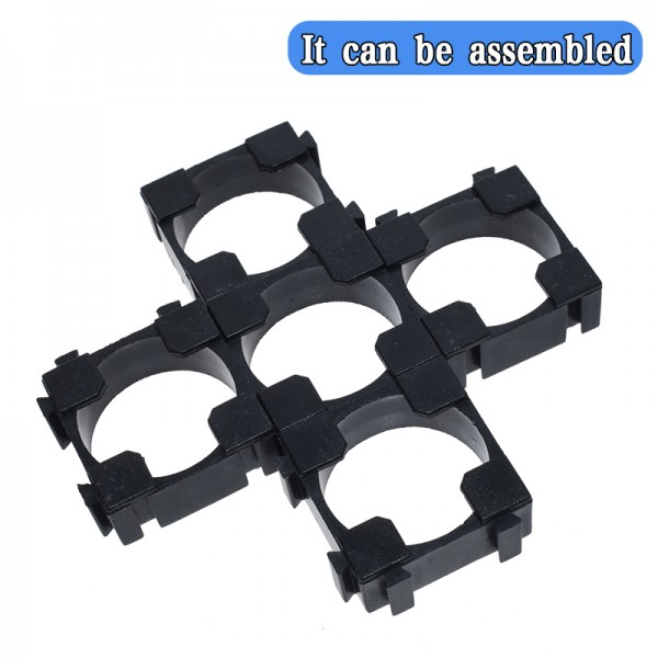 18650 Lithium Cell Cylindrical Battery Case Holder Bracket for DIY Battery Pack li-ion holder Safety anti vibration