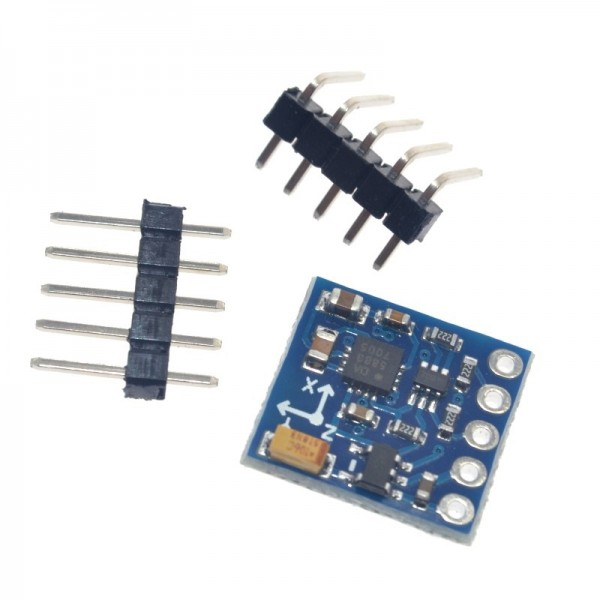 GY-271 HMC5883L 3V-5V 3 Axis Magnetic Field Compass Magnetometer Sensor Module For Arduino IIC Board