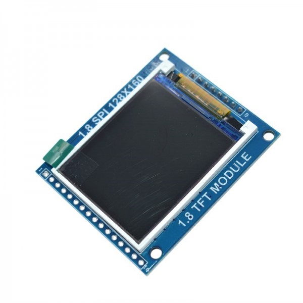 1.8 Inch Serial SPI TFT LCD Module Display with PCB Adapter IC 128x160 Dot Matrix 3.3V 5V IO Inerface Cmmpatible LCD1602