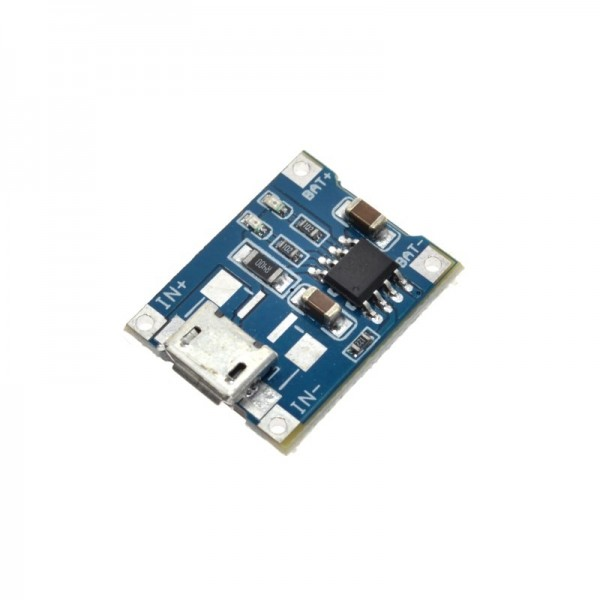 5V 1A Micro USB 18650 Lithium Battery Charging Board Charger Module and Protection Dual Functions TP4056