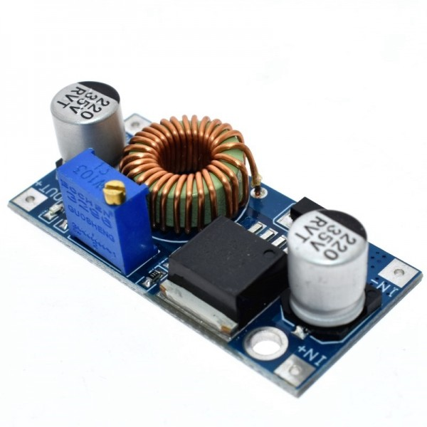 XL4005 DC-DC adjustable step-down 5A 75W power Supply module Large current power module