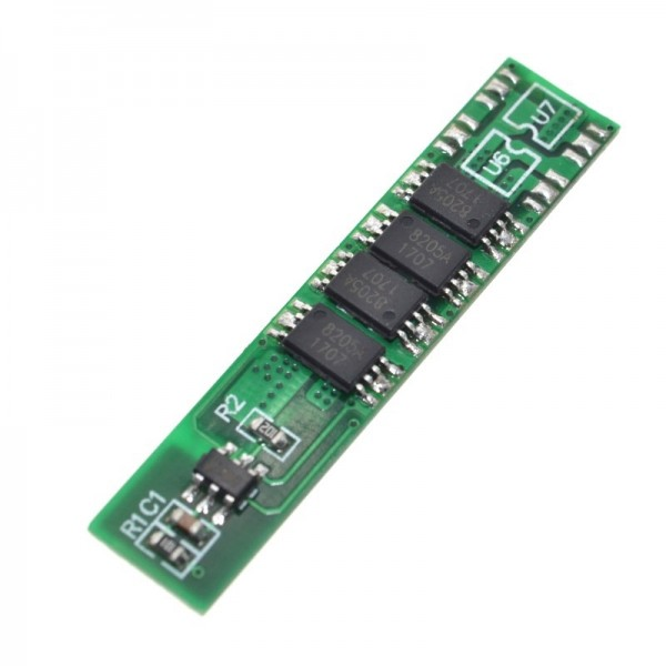 1S 10A 3.7V li-ion BMS PCM battery protection board pcm for 18650 lithium ion li battery