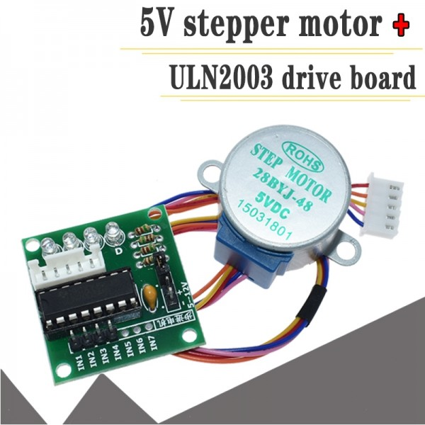 28BYJ-48 5V 4 Phase DC Gear Stepper Motor and ULN2003 Driver Board for arduino DIY Kit