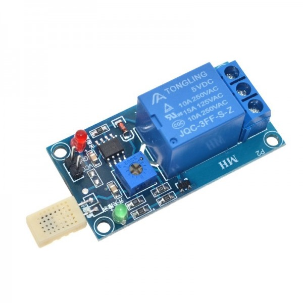 DC 5V 1 Channal Humidity Sensor Switch Relay Module Control Board Humidity Sensor Module