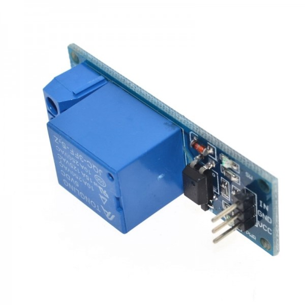 1 Channel 5V relay module with optical coupling isolation MCU expansion board high level trigger