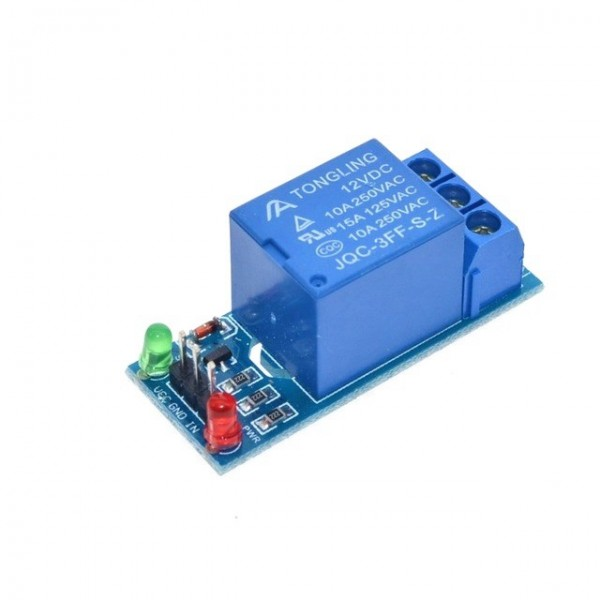 interface Board Shield 12V low level trigger 1 Channel Relay Module For PIC AVR DSP ARM MCU Arduino