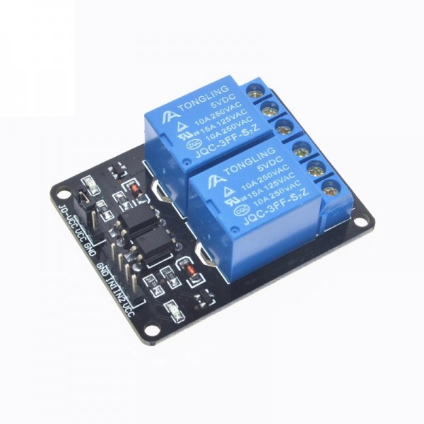 5V 2 Channel Relay Module Shield for Arduino ARM PIC AVR DSP Electronic