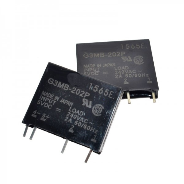 G3MB-202P DC-AC PCB SSR In 5VDC Out 240V AC 2A Solid State Relay