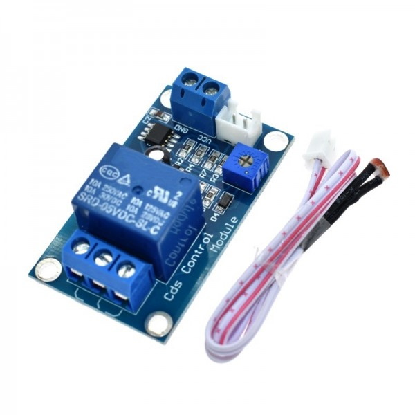 Light Control Switch Photoresistor Relay Module Detection Sensor 10A brightness Automatic Control Module