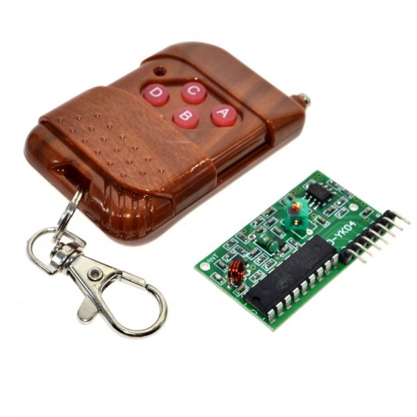 2262 2272 4 Channel 315Mhz Key Wireless Remote Control Kits Receiver module For arduino
