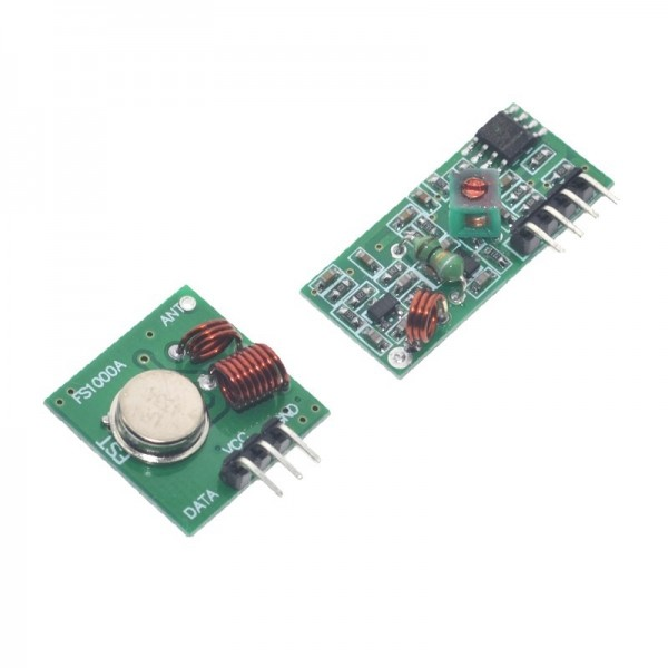 315Mhz RF transmitter and receiver Module link kit For arduino/ARM/MCU WL diy 315MHZ/433MHZ wireless